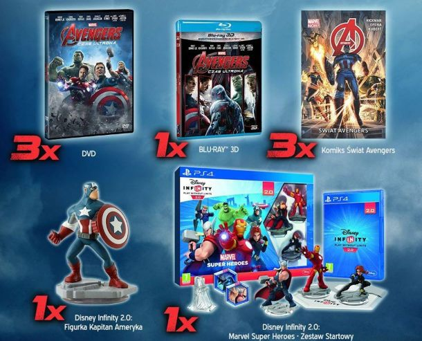 Avengers: Czas Ultrona - konkurs
