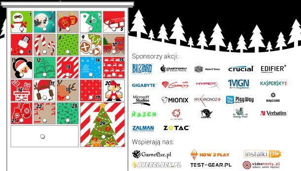 Kalendarz Adwentowy Gamedot