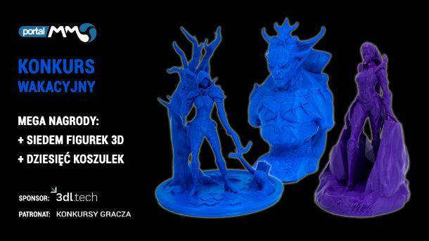Konkurs: Zgarnij figurki 3D bohaterów z popularnych gier i seriali
