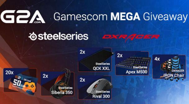 G2A Gamescom Mega Giveaway