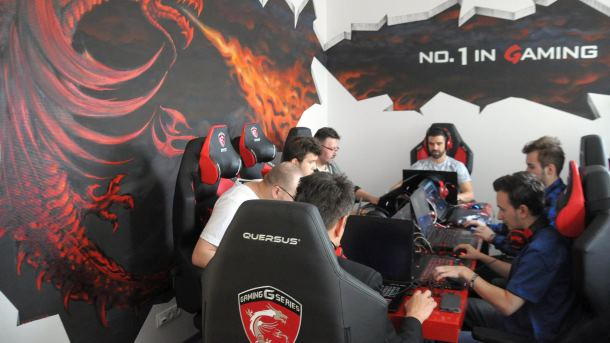 Dragon Gaming Room MSI