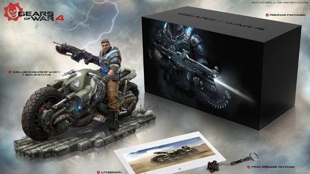 Gears of War 4 w edycji kolekcjonerskiej