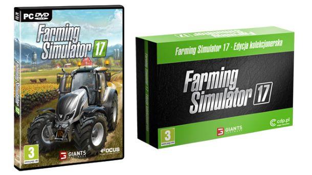 Konkurs: Do wygrania kolekcjonerka Farming Simulator 17 i nie tylko