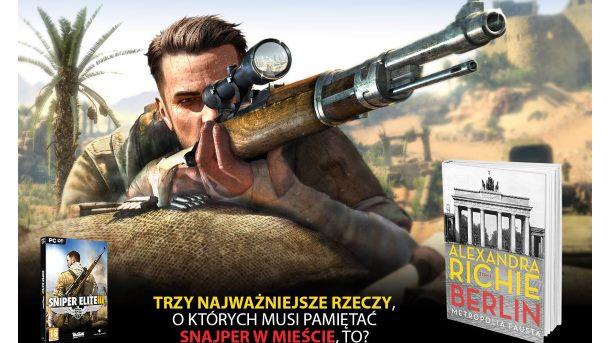 Konkurs: Do wygrania gra Sniper Elite III: Africa wraz z książką
