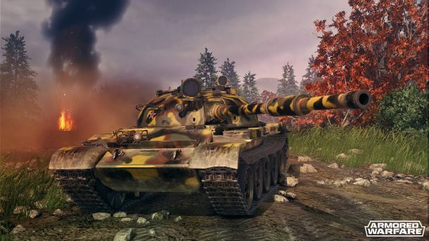 Armored Warfare: T62 Veteran