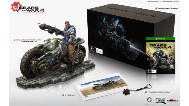 Gears of War 4 w wersji kolekcjonerskiej