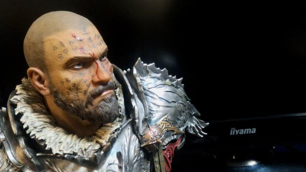Popiersie bohatera gry Lords of the Fallen