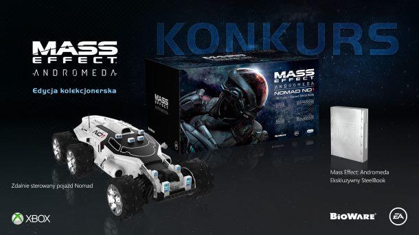 Konkurs: Do zdobycia kolekcjonerski zestaw Mass Effect Andromeda