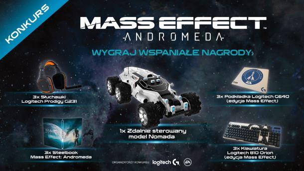 Konkurs: Do wygrania dużo dobrych rzeczy dla fanów serii Mass Effect