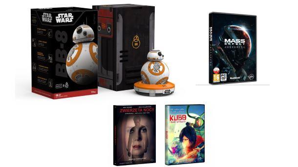 Konkurs: Wygraj robota BB-8, gry Mass Effect Andromeda i filmy na DVD