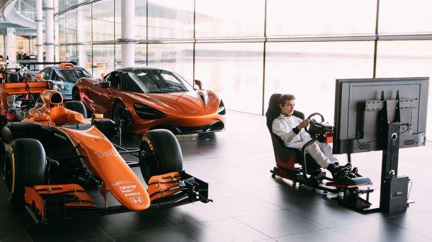 McLaren i Logitech G organizują konkurs na Najszybszego Gracza Świata