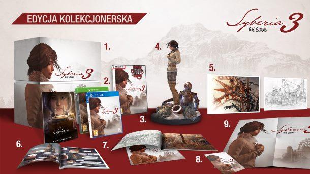 Konkurs: Do wygrania kolekcjonerska edycja gry Syberia 3