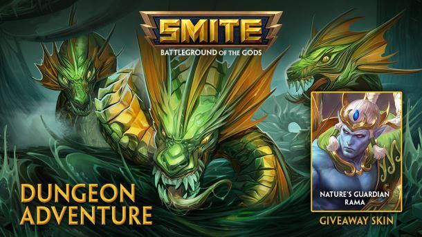 Giveaway: Mamy kody na skórkę Nature's Guardian dla boga Rama w SMITE