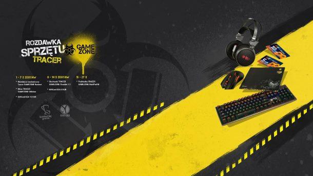 Konkurs: Wygraj sprzęt marki Tracer Gamezone i karty podarunkowe G2A!