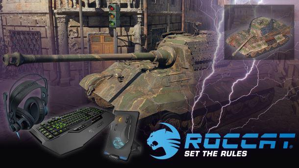 Konkurs: Do zgarnięcia sprzęt ROCCAT oraz czołgi do War Thunder