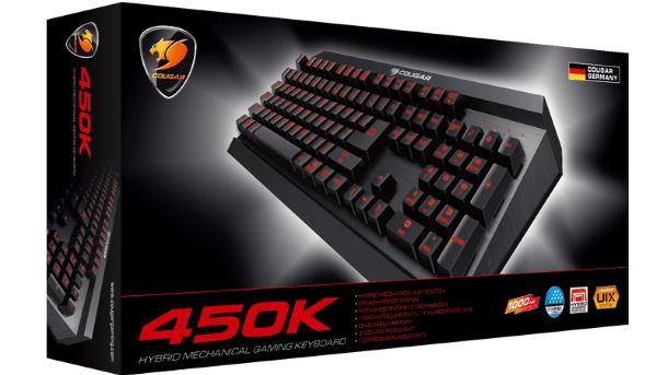 Konkurs: Wygraj podświetlaną klawiaturę Cougar 450K