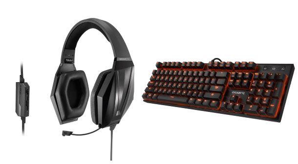Konkurs: Do wygrania słuchawki i klawiatura mechaniczna z serii Gigabyte Force