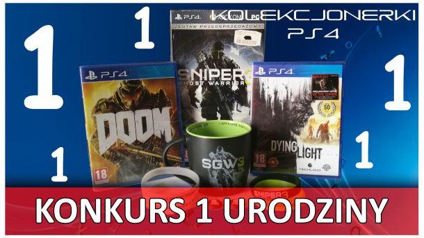 Konkurs: Do wygrania gry na PS4, kubek, koszulka, gumki na analogi i opaski SGW3