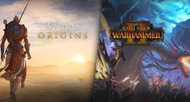Konkurs: Do wygrania gry Assassin's Creed Origins i Total War: Warhammer II