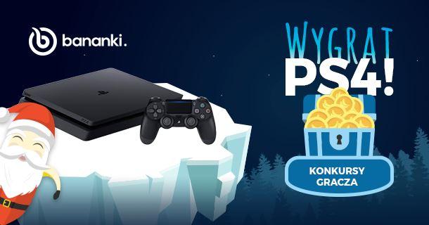 Konkurs: Wygraj konsolę PlayStation 4 na Bananki.pl!