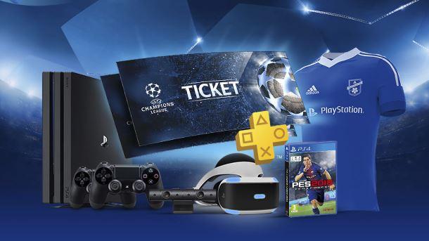 Konkurs: Wyjedź na finał Ligi Mistrzów UEFA z PlayStation F.C.