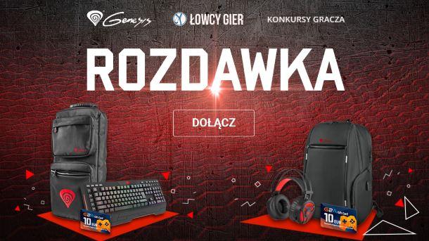 Konkurs: Wygraj gamingowe nagrody od Genesis i kody podarunkowe G2A!