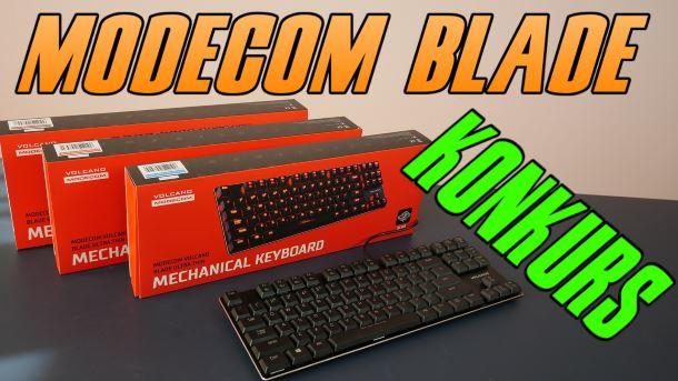 Konkurs: Do wygrania klawiatura Modecom Volcano Blade Ultra Thin