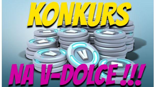 Konkurs na darmowe V-dolce i pakiety Battle Royal