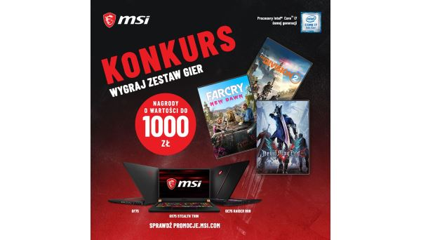 Konkurs: Do wygrania gry Devil May Cry 5, The Divison 2, Far Cry: New Dawn