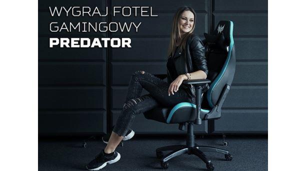 Konkurs: Do wygrania fotel Predator Gaming Chair