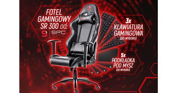 Konkurs: Do wygrania fotel i sprzęt marki SPC Gear