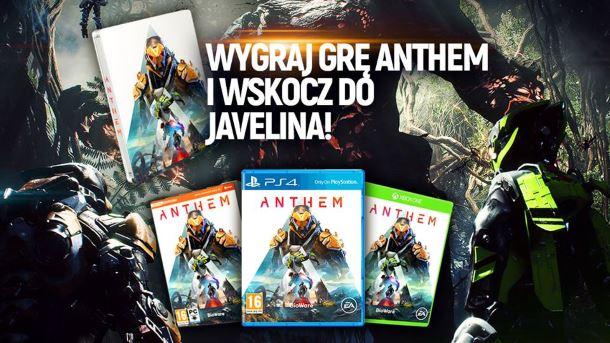 Konkurs: Do wygrania Anthem i gadżety z gry
