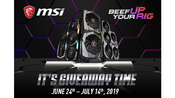 Konkurs: Do wygrania 35 losowych nagród od MSI