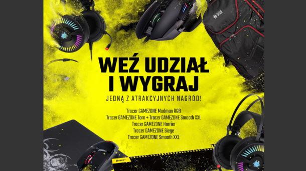 Do wygrania sprzęt sprzęt gamingowy marki Tracer GAMEZONE!