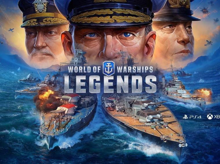 Rozdajemy kody do World of Warships Legends!