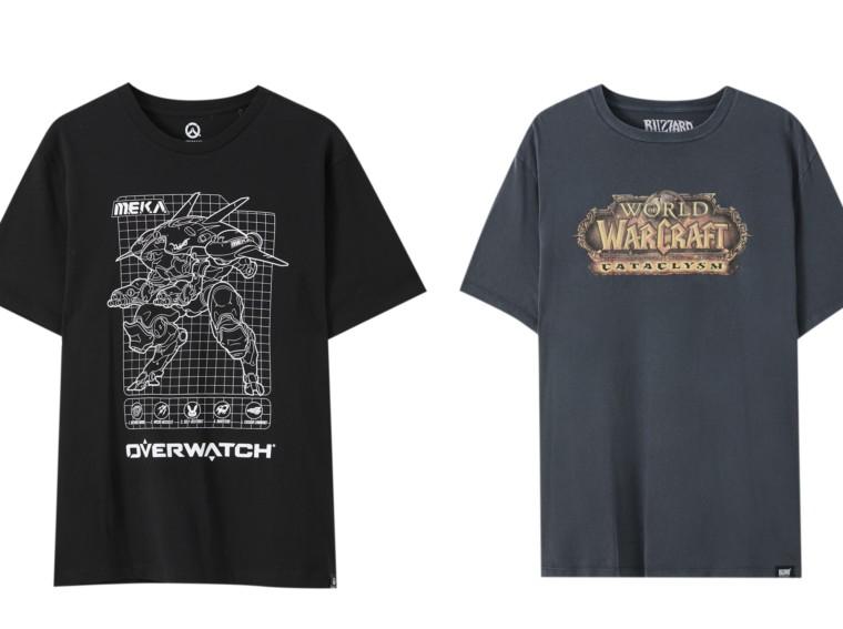 Wygraj koszulkę z motywem z gry Overwatch lub World of Warcraft